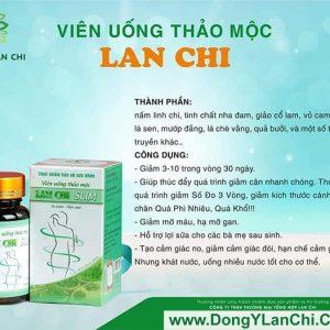 Công dụng của viên uống thảo mộc Lan Chi