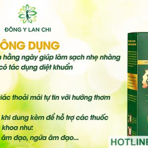 Công dụng của dung dịch ladyqueen Lan Chi
