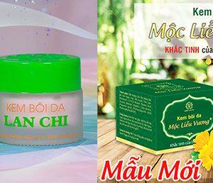 Mẫu mới sản phẩm kem bôi da Mộc Liễu Vương Lan Chi 2020