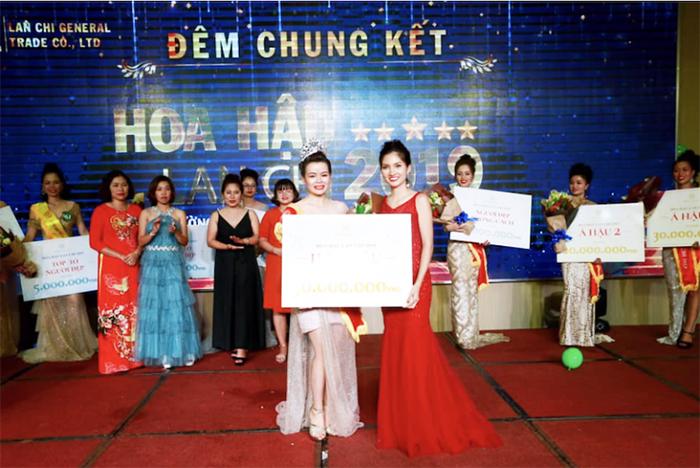 Hoa Hậu Lan Chi Chu Thị Huế
