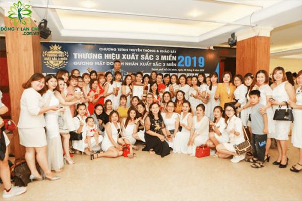 Đông Y Lan Chi vinh dự nhận giải thưởng Top 10 thương hiệu 2019