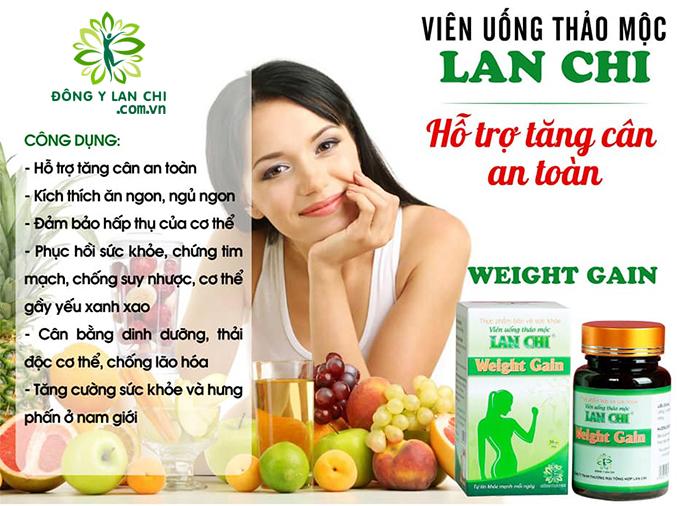 Công dụng tăng cân Lan Chi