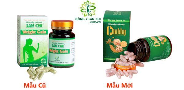 Hình ảnh viên uống thảo mộc tăng cân Chubby Lan Chi