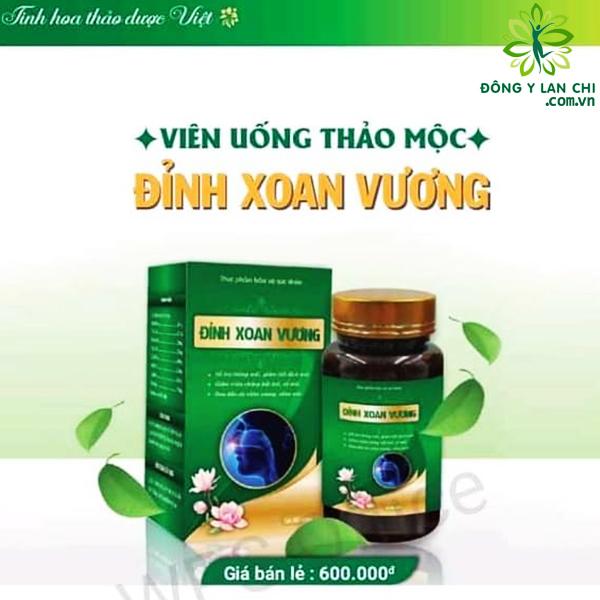 Hình ảnh viên uống Đỉnh Xoan Vương Lan Chi