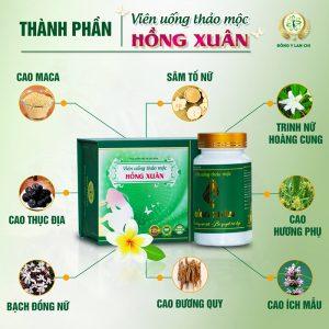 Thành phần viên uống Hồng Xuân Lan Chi
